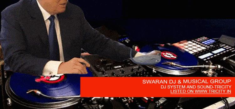 SWARAN DJ & MUSICAL GROUP