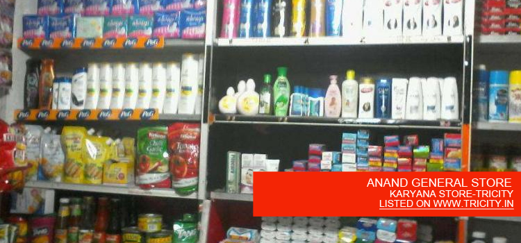 ANAND-GENERAL-STORE