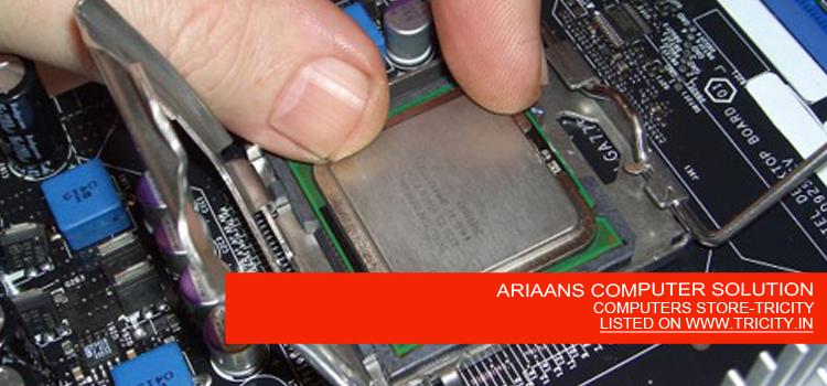 ARIAANS COMPUTER SOLUTION