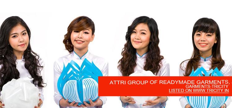 ATTRI GROUP OF READYMADE GARMENTS, JANTA MARKET