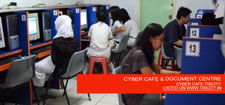 CYBER CAFE & DOCUMENT CENTRE