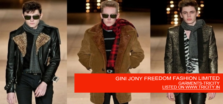 GINI JONY FREEDOM FASHION LIMITED