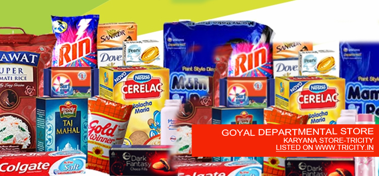 GOYAL DEPARTMENTAL STORE