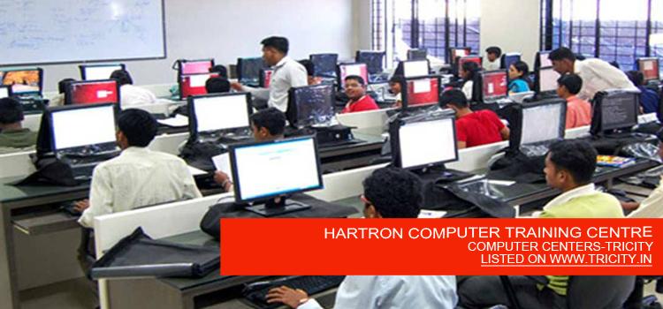 HARTRON COMPUTER TRAINING CENTRE