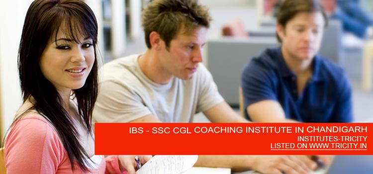 IBS - SSC CGL COACHING INSTITUTE IN CHANDIGARH