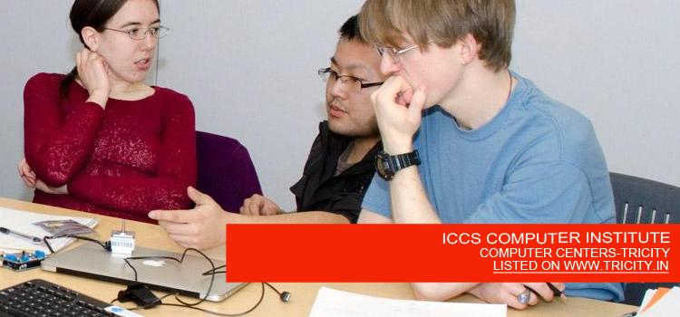 ICCS COMPUTER INSTITUTE