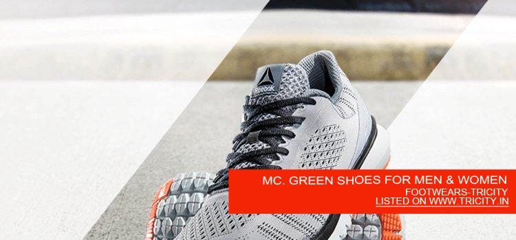 MC. GREEN SHOES FOR MEN & WOMEN