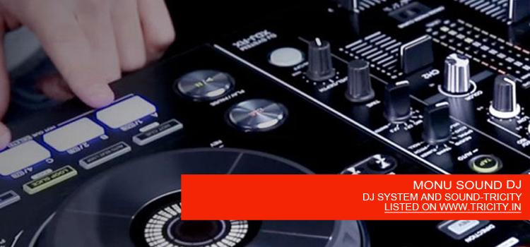 MONU SOUND DJ