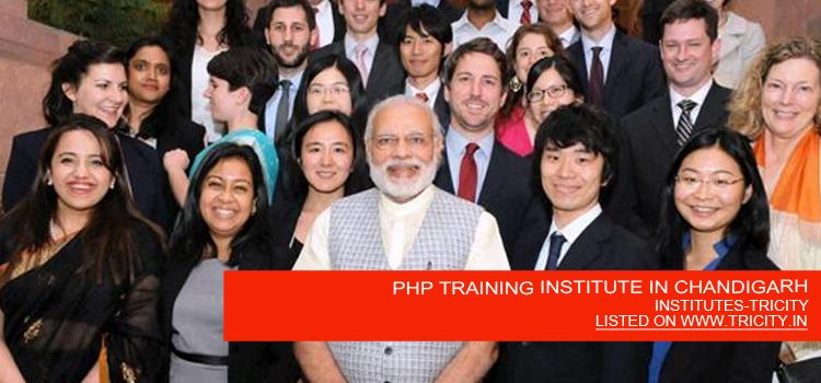 PHP TRAINING INSTITUTE IN CHANDIGARH