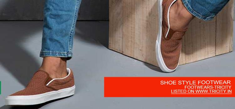 SHOE STYLE FOOTWEAR