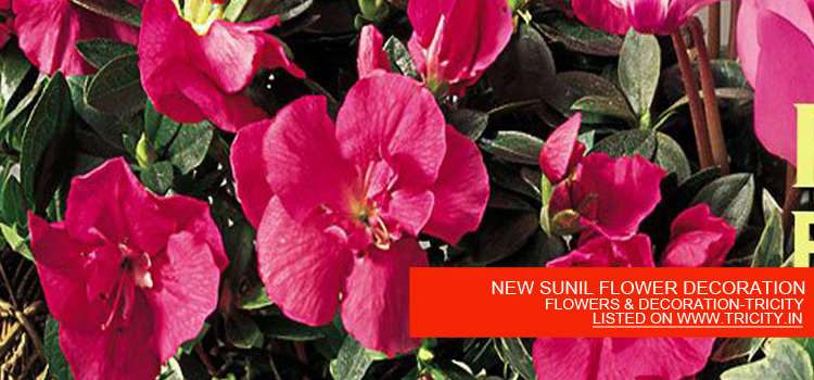 NEW SUNIL FLOWER DECORATION