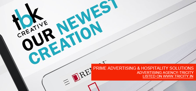 PRIME ADVERTISING & HOSPITALITY SOLUTIONS