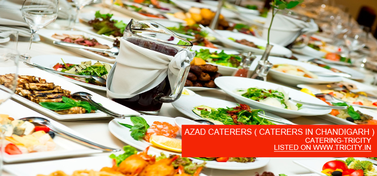 AZAD CATERERS ( CATERERS IN CHANDIGARH )