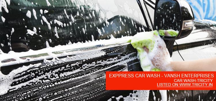 EXPPRESS-CAR-WASH---VANSH-ENTERPRISES