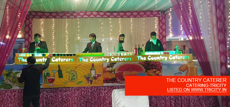 THE COUNTRY CATERER
