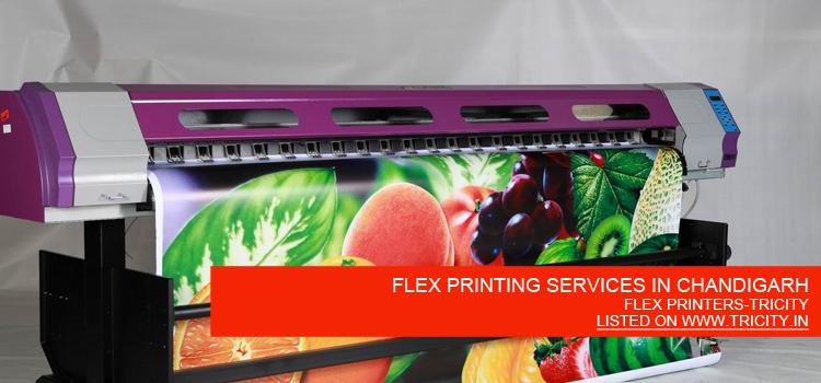 FLEX PRINTING SERVICES IN CHANDIGARH