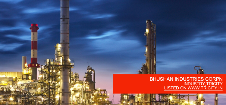 BHUSHAN INDUSTRIES CORPN