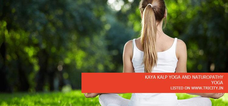 KAYA KALP YOGA AND NATUROPATHY
