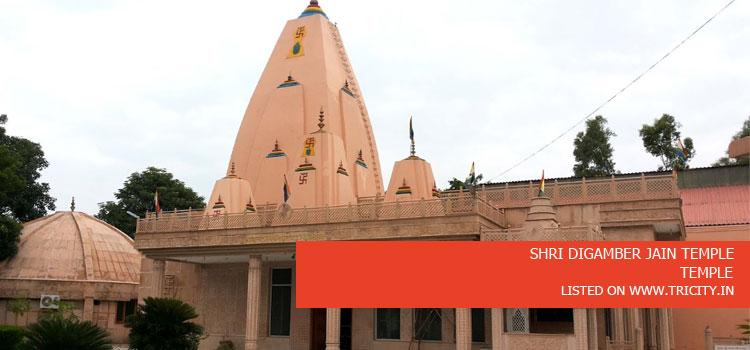 Shri Digamber Jain Temple