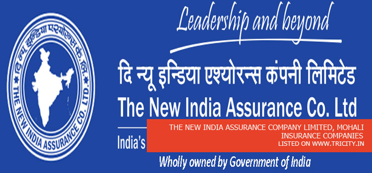 THE NEW INDIA ASSURANCE COMPANY LIMITED, MOHALI