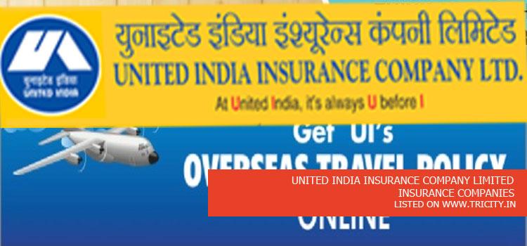 UNITED INDIA INSURANCE COMPANY LIMITED