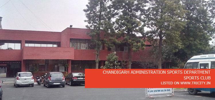 CHANDIGARH ADMINISTRATION SPORTS DEPARTMENT