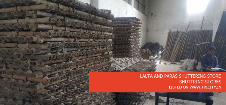 LALTA AND PARAS SHUTTERING STORE