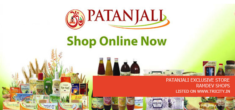 PATANJALI EXCLUSIVE STORE
