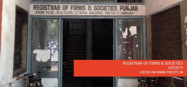 REGISTRAR OF FIRMS & SOCIETIES