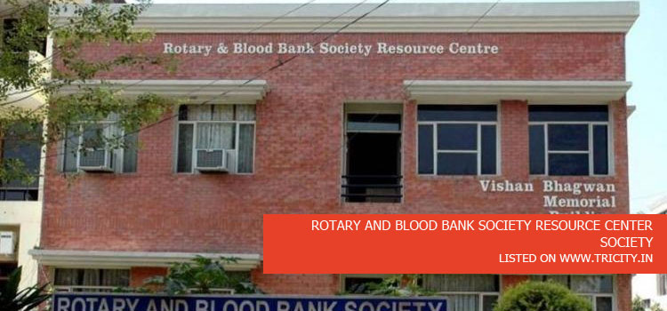 ROTARY AND BLOOD BANK SOCIETY RESOURCE CENTER