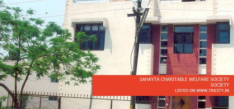 SAHAYTA CHARITABLE WELFARE SOCIETY