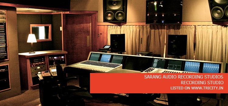 SARANG AUDIO RECORDING STUDIOS