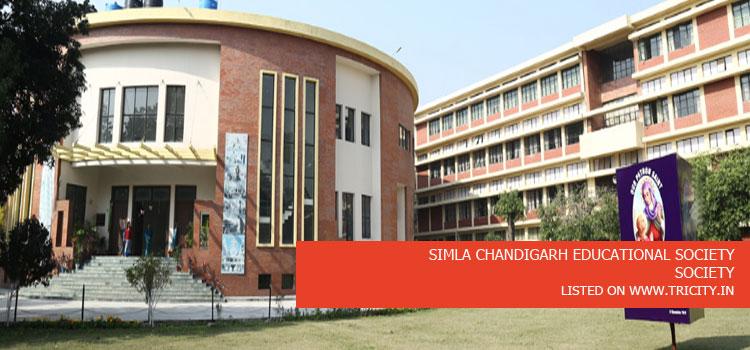 SIMLA CHANDIGARH EDUCATIONAL SOCIETY