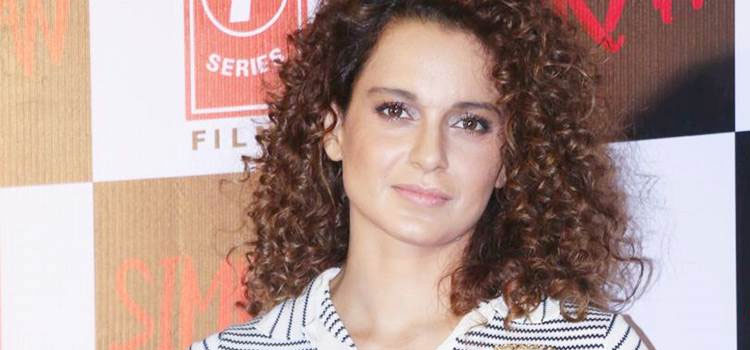 "The trailer launch of her upcoming film ""Simran"" on Wednesday"
