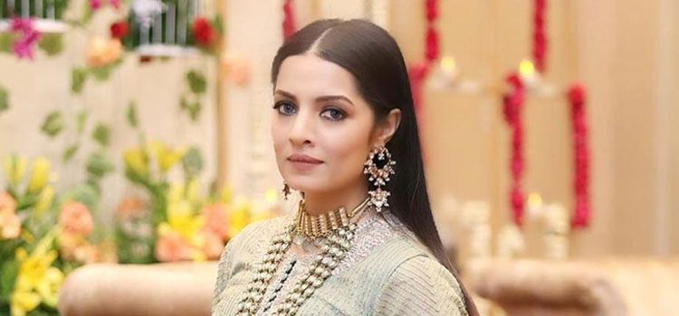 Actress Celina Jaitley. Compounding it has been the loss of her father.