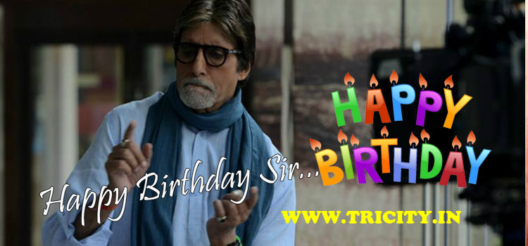 Happy Birthday, Amitabh Bachchan