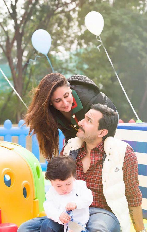Kareena Kapoor Khan With Her Son Taimur