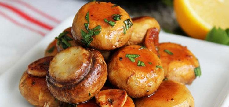 Baked Garlic Mushrooms Recipes
