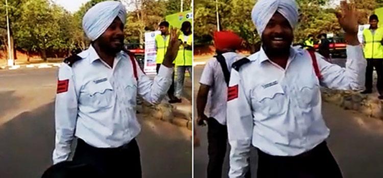 Head Constable Bhupinder Singh Sings