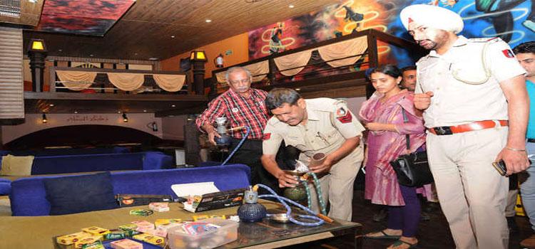 Ban hookah bars in Chandigarh