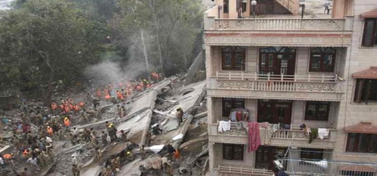 Delhi Building Collapse