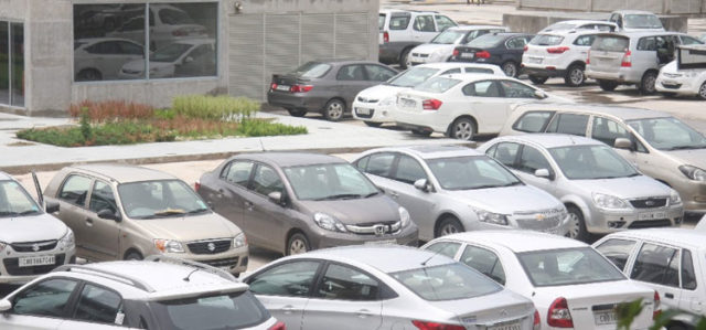 Paid Parking Chandigarh