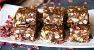 Chocolate Dry Fruit Barfi Recipe