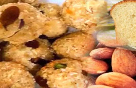 Bread Badam Ladoo