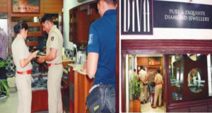 Looted Jewelery Shop In Chandigarh