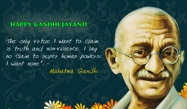 Gandhi Jayanti Photo