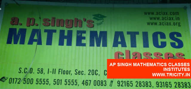 Ap Singh Mathematics Classes