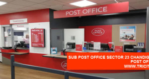 Sub Post Office Sector 23 Chandigarh