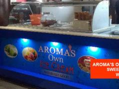 Aroma's Own Ice Cream