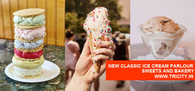 New Classic Ice Cream Parlour